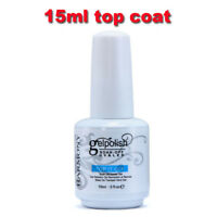 15ml Gelpolish Nail Top Coat UV Gel Polish Soak Off Gel UV/LED Fashion Nail Art-