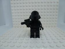 Lego Minifig: First Order Crew Member (75104) (Reddish Brown Head) - sw654