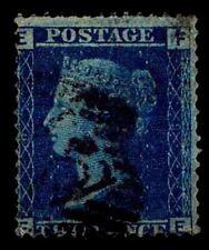 1855 GREAT BRITAIN #17 QV WMK 20 P14 - USED - FINE - CV$60.00 AS VF (ESP#2608)