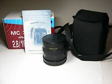 FishEye MC Zenitar-M 2.8/16mm for Sony Alpha Minolta. Brand NEW. M42 + adapter