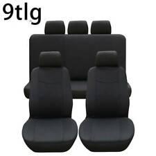 Autositzbezüge Sitzbezüge Schonbezüge Schwarz Universal passend für Volkswagen