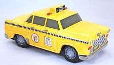 1986 The Silver Crane Company Yellow Classic Ceramic Taxi --  Mint No box