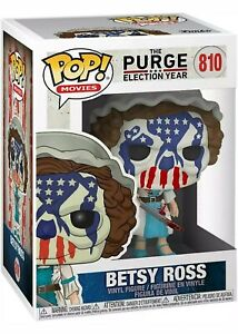 Pop! Movies: The Purge - Betsy Ross (Election Year) #810 UK SELLER