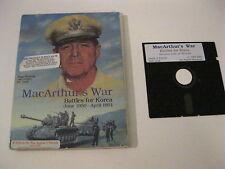 SSG MacArthur's War Battles for Korea Apple II game complete SSG