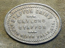 New ListingBlack River Falls, Wis., Staffon Dairy, Gaylord Staffon / Good For 1 Quart Milk