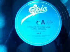 SADE-HANG ON TO YOUR LOVE.12'' SINGLE/price reduction