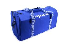 Supreme Blue Duffel Bag Travel / Gym Waterproof Unisex  w/ Shoe pocket