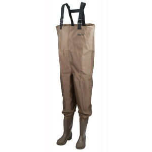 Hodgman Mackenzie Cleated Bootfoot Chest Waders - Brown