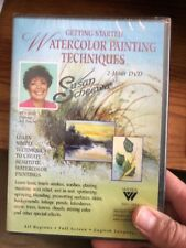 Susan Scheewe Getting Started Watercolor Painting Techniques DVD