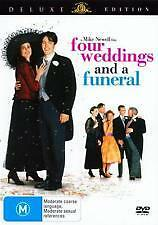 FOUR WEDDINGS AND A FUNERAL - BRAND NEW & SEALED R4 DVD (HUGH GRANT) DELUXE ED'N