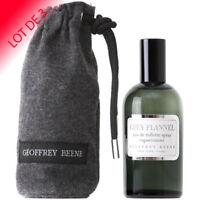 Grey Flannel Geoffrey Beene pour homme EDT 120ml LOT DE 3  +1 Échantillon