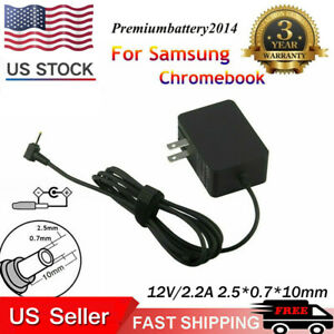 AC-Adapter for Samsung-Chromebook-Charger 3 & 2: PA-1250-98 Xe500c13 Power Cord