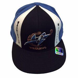 Washington Wizards NBA Reebok Hardwood Classics Retro 7 7/8 Fitted Cap Hat $25
