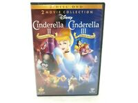 Cinderella II: Dreams Come True/Cinderella III: A Twist in Time (DVD, 2012,...