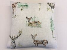 Deer Linen By Studio G From The Countryside Collection Cushion Cover 45cm x 45cm