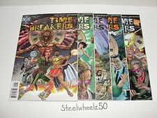 Time Breakers #1-5 Comic Lot DC Helix 1997 2 3 4 COMPLETE SciFi Rachel Pollack