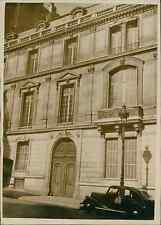 Paris, hôtel Blumenthal Vintage silver print Tirage argentique  13x18