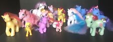 LOT OF 14 Hasbro MY LITTLE PONY Toys Figures G1 G2 G3 Various Colors Sizes
