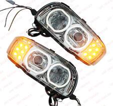 QSC Full LED Performance Right & Left Side Headlights Pair for Peterbilt 388 389