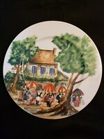 "GUY BUFFET PERIGOLD DINNER PLATE 11""  OUTDOOR CAFE WILLIAMS SONOMA"