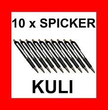 10 x SPICKER KULI - SCHUMMEL KUGELSCHREIBER - PERFEKT FÜR STUDENTEN !