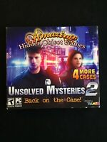 Unsolved Mysteries 2 Back to the Case - Hidden Object PC Game