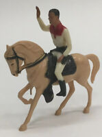 "VTG 5"" Hartland Mini Plastic Roy Rogers Trigger Figure Toy Horse Cowboy Western"