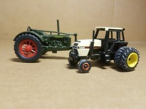 Ertl Case 2594 Cab Tractor 1/64 #224 & Massey Harris Challenger LOT OF 2