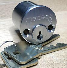 Medeco Biaxial High Security 6-Pin Inside Rim Cylinder w/ 2 Keys Nib - Locksport