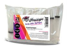 25 Pack Frattoys Party Jello Shot Syringes (Large 2 oz)