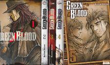 GREEN BLOOD tomes 1 à 5 Kakizaki MANGA seinen SERIE COMPLETE