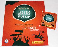 Panini ROAD TO FIFA WORLD CUP RUSSIA 2018 - LEERALBUM EMPTY ALBUM VUOTO VIDE