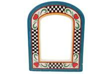 1994 Mary Engelbreit Charpente Hearts Ceramic Frame 4x6 Home Décor Door Way