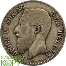 Aa2912) bélgica 50 céntimos 1898 Leopold II, 1865-1909