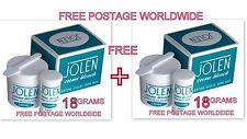 18 gm PACK Jolen Creme Bleach Lightens Dark Facial Hair Cream BUY 1 GET 1 FREE