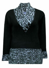 Acrylic Blend Winter Plus Size Jumpers & Cardigans for Women