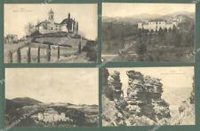 Emilia Romagna. SASSO, Bologna. 4 cartoline d'epoca viaggiate