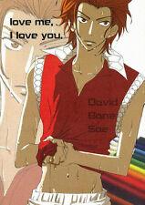 The Prince of Tennis Soft YAOI Doujinshi ( Davide x Bane ) love me, I love you