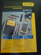 Fluke 87V/E2 Kit Industrial Electrician Combo Kit. MFG DATE: MARCH 2021!