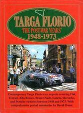 TARGA FLORIO THE POST-WAR YEARS' 1948-1973 CLARKE OWEN TESTO INGLESE AUTO JA551