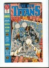 New  Titans ,the   Annual 5 . DC 1989 - FN / VF