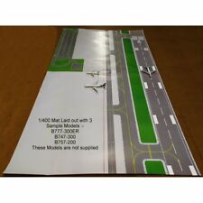 Gemini Jets 1/400 & 1/200 FCAAL003 005 - 4 x 2 Sided Mats - Large Airport Layout