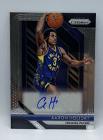 2018-19 Panini Prizm Aaron Holiday RC Rookie AUTO Autograph Indiana Pacers