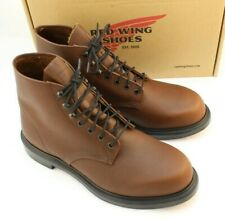"New RED WING 952 Size 11.5 D Soft Toe 6"" SuperSole EH Men's Work Boots MSRP $195"