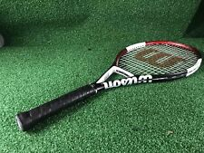 "Wilson Ncode Nvision Tennis Racket, 27.25"", 4 1/4"""