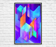 Abstract Watercolour Print AB1