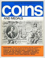 COINS & MEDALS - 76 Page Magazine Feb 1969 Good Reference