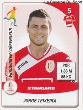 N°251 JORGE TEIXEIRA PORTUGAL STANDARD FC.ZURICH STICKER PANINI PRO LEAGUE 2015
