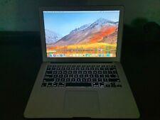 """Apple Macbook Air 11"""" Mid2011 Core i5 @1.70GHz 4GB 256 GB SSD MAC High Sieria OS"""