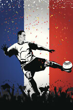 Netherlands Soccer Player Sports Poster 12x18